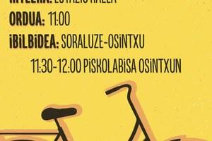 Marcha bicicletera para fomentar la movilidad sostenible
