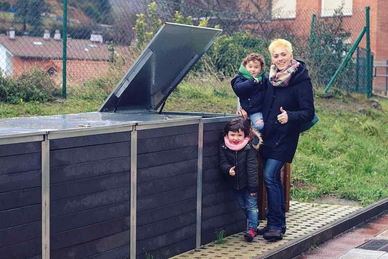 """Aitziber Mayo: """"Hacer compostaje vecinal es poner cada uno un pequeño grano por la tierra"""""""