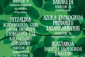 Quincena del Medio Ambiente hasta el 30 de mayo