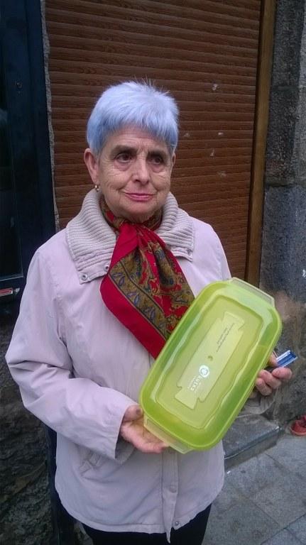 Anahi Maquinay eta Margarita Uriarte Ontziratu Zaitez kanpainako azaroko sarituak