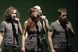 Actuación de Demode Quartet