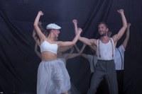 Actuación de la compañía de danza Aukeran