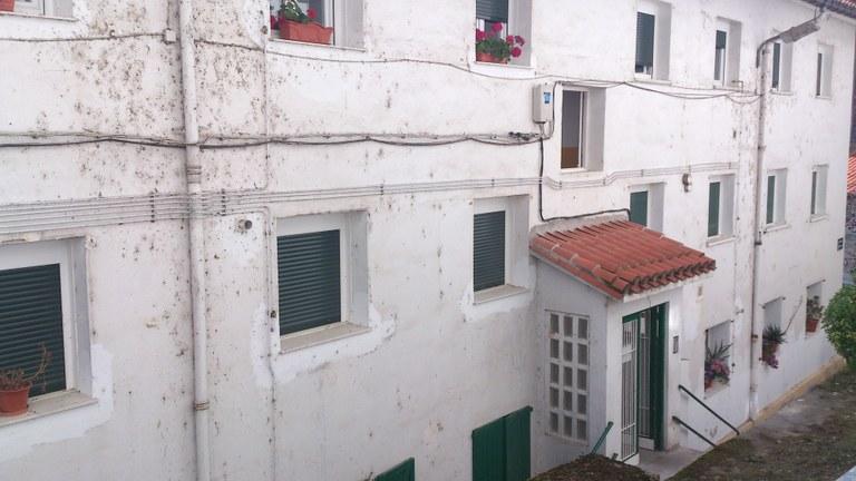 Adjudicación de las viviendas del frontón