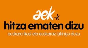 Aprende euskera en AEK