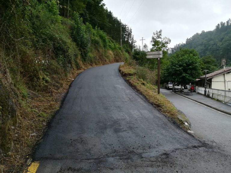 Asfaltado de caminos rurales
