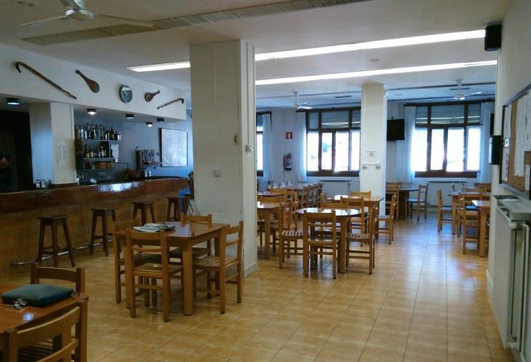 Bar del hogar del jubilado