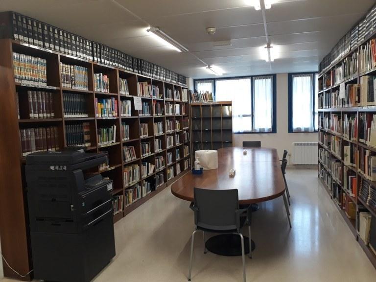 La biblioteca cierra por vacaciones