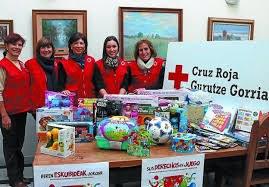 Campaña de juguetes de la Cruz Roja