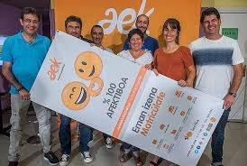 Campaña de matriculación de AEK