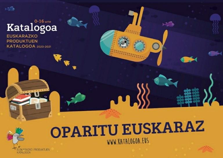 Catálogo de productos en euskera