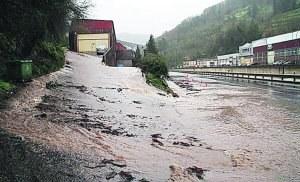 Comienza el drenaje del viaducto