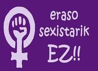 Concentración contra la violencia sexista