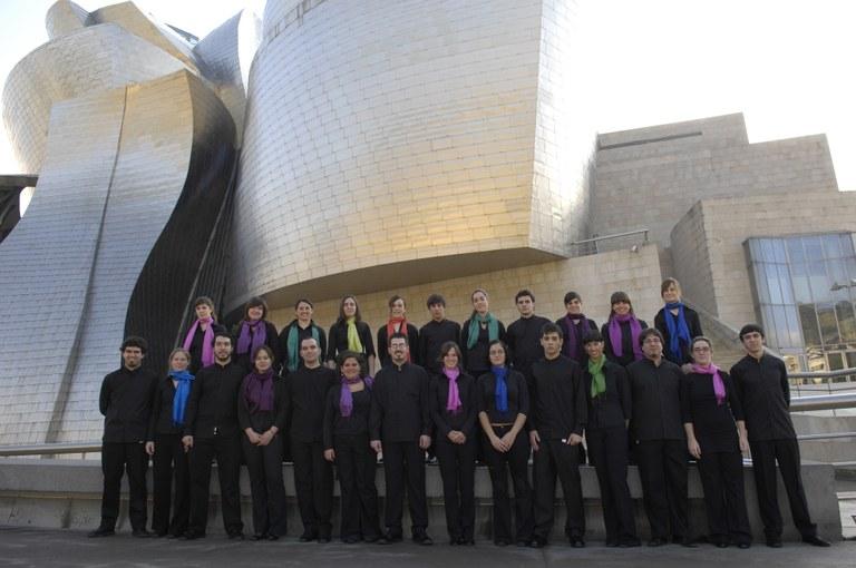 Concierto de la coral Euskeria de Bilbao
