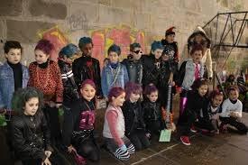 Exhibición de baile de carnavales