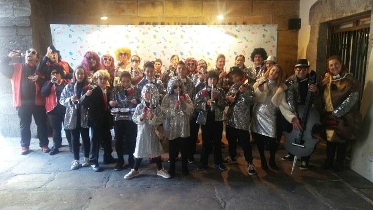 Concurso de disfraces de carnavales