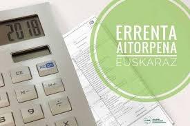 Declaración de la renta en euskera