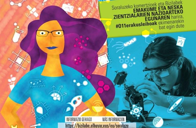 Día Internacional de la Mujer en Ciencia