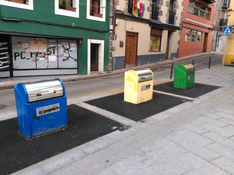 El Ayto. no subirá la tasa de la basura