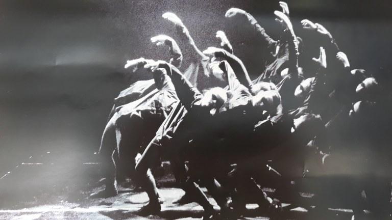 Exhibición de danza hoy en el polideportivo