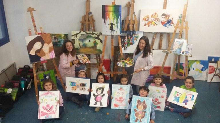 Exposición de la escuela de pintura