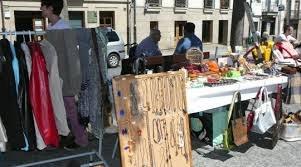 Feria de productos de segunda mano