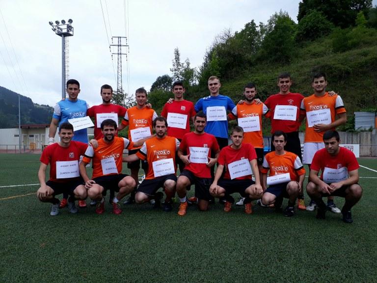 Final del campeonato de fútbol 7