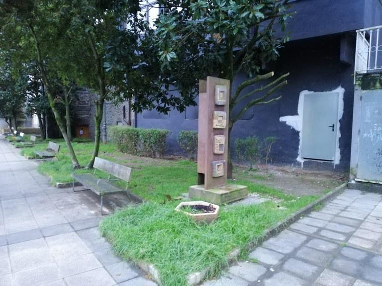 Jardín de Iturburu pasealekua