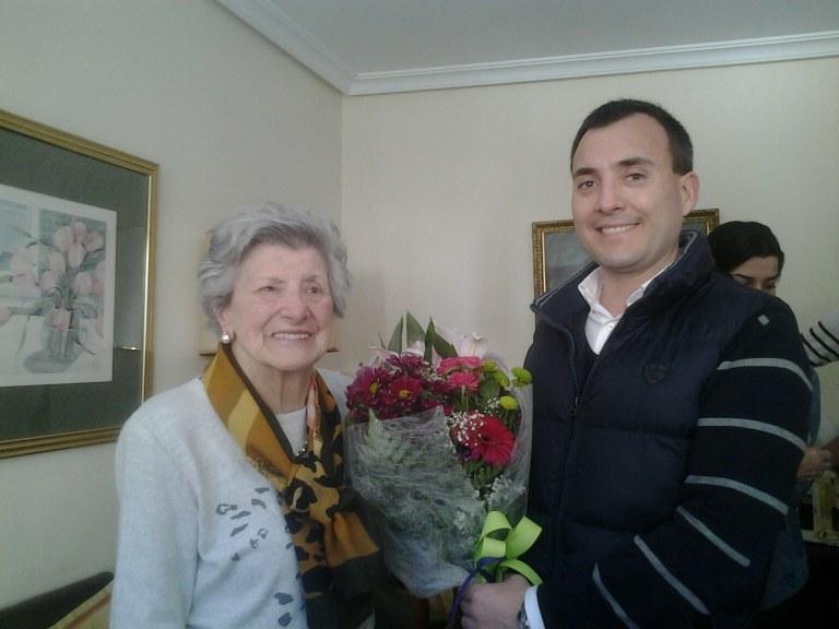 Juana Aseginolaza cumple 100 años