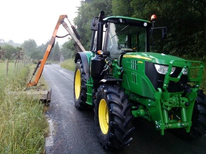 Limpieza de caminos rurales