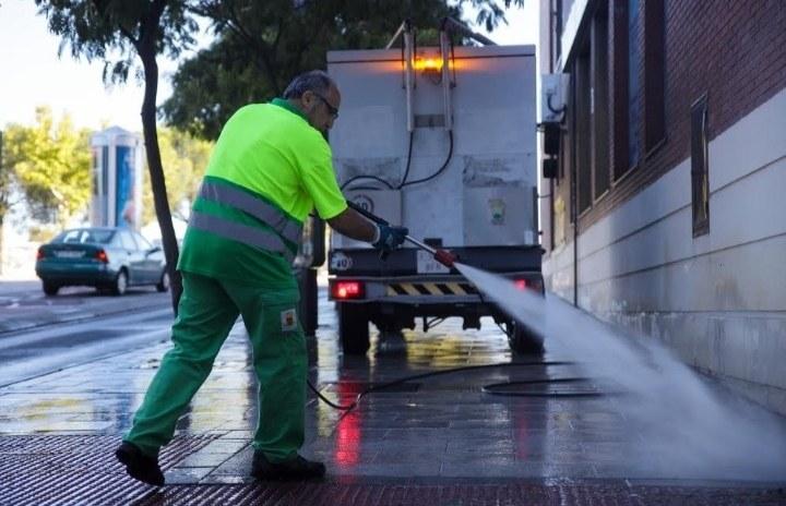 Limpieza de la vía pública