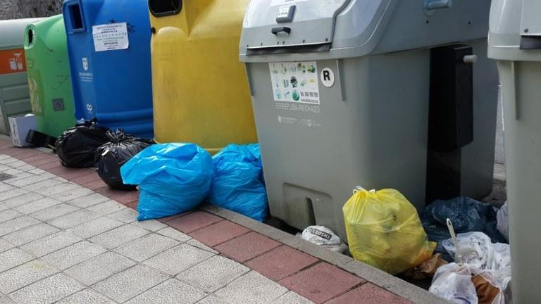 Medidas para mejorar la recogida de residuos