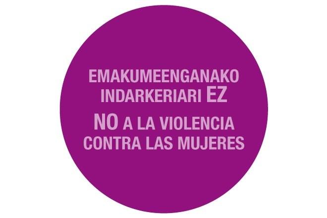 ¡No a la violencia contra las mujeres!