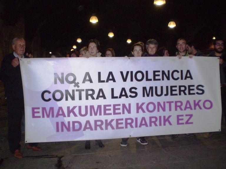 ¡No a la violencia machista!