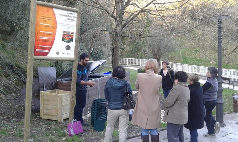 Nuevas zonas de compostaje comunitario.