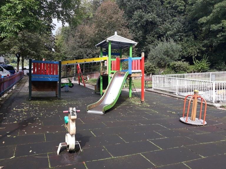 Nuevo parque infantil de Ezozibidea