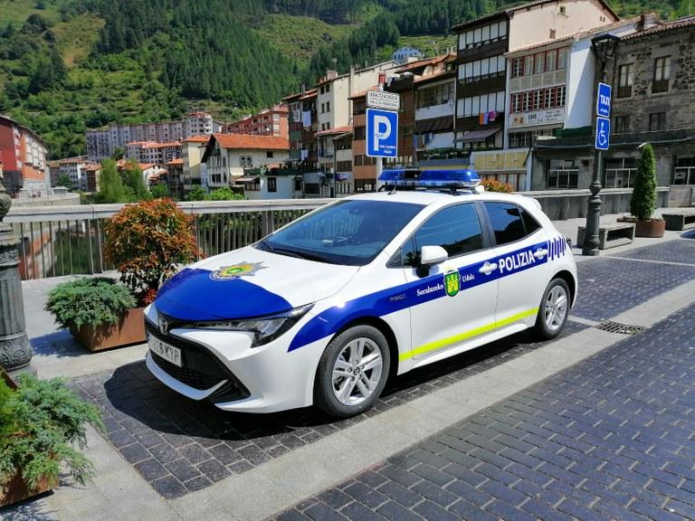 Nuevo vehículo de la Policía Municipal