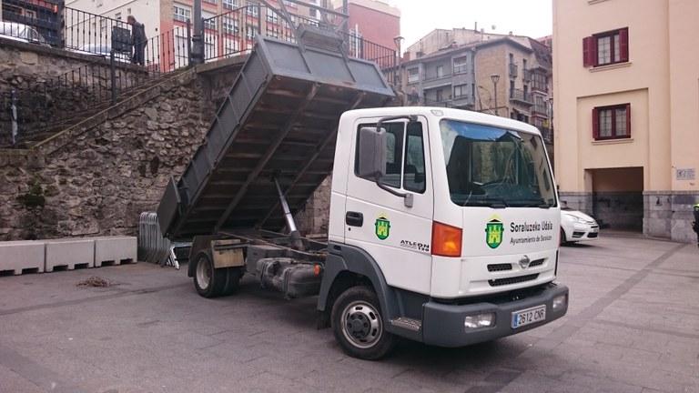 Nuevo vehículo para la brigada municipal