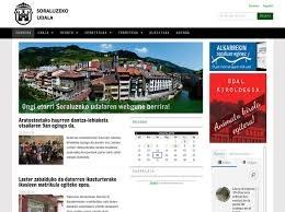 Página web del Ayuntamiento de Soraluze