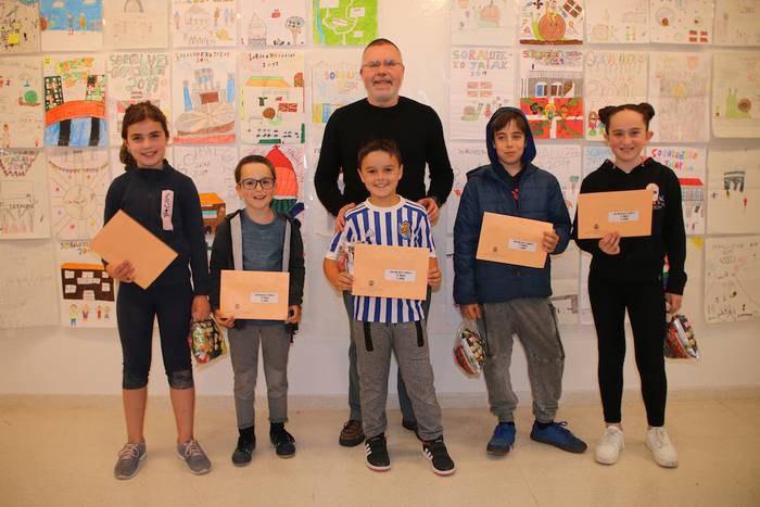 Premios del concurso de carteles