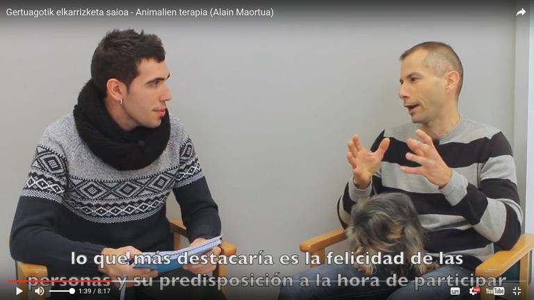 """Programa de entrevistas """"Gertuagotik"""""""