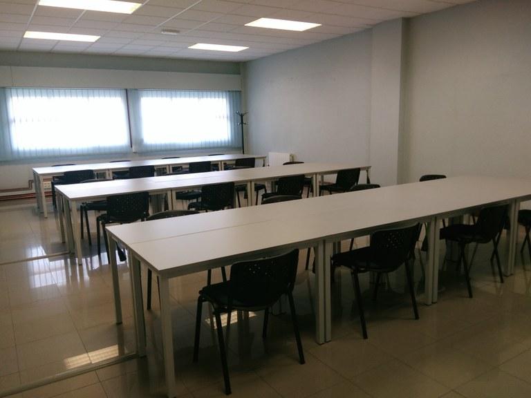 Próxima apertura del aula de estudio
