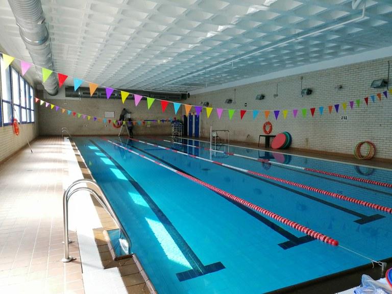 Reapertura de la piscina municipal