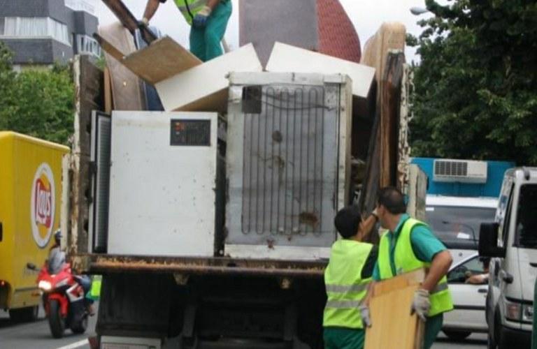 Recogida de residuos voluminosos