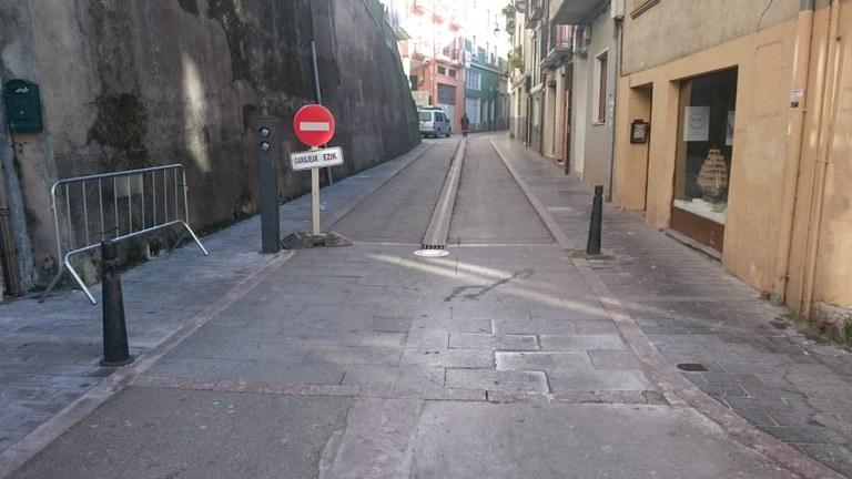 Trabajos de reparación del pavimento
