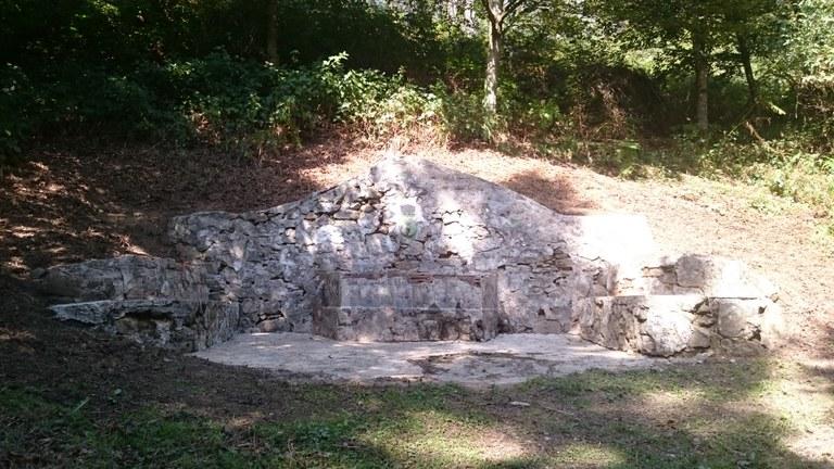 Restauración de la fuente de Askabeitti
