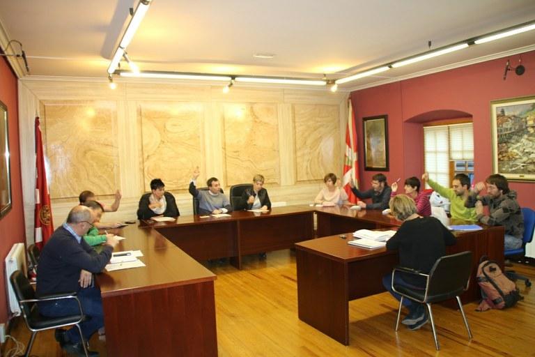 Sesión Plenaria de la corporación mucipal