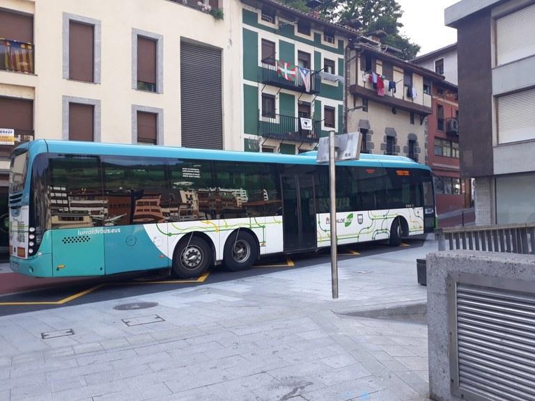 Telófono para reserva del autobús