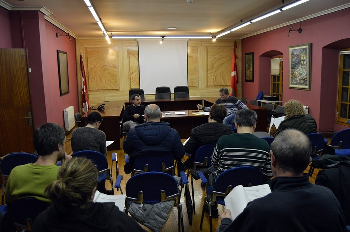 Ultima reunión sobre la ordenanza de civismo