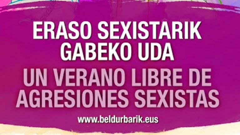 Verano libre de agresiones sexistas