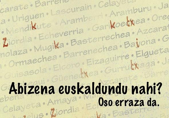 Euskal abizenen grafia aldaketa